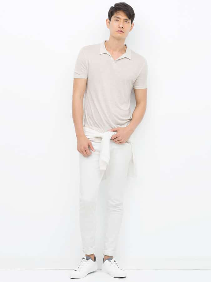 Lookbook Inspiration Out-White Outfit pour homme