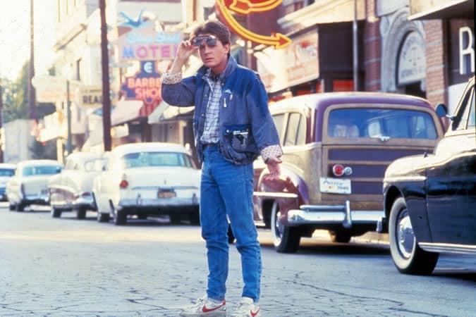 Marty McFly dans Retour vers le futur