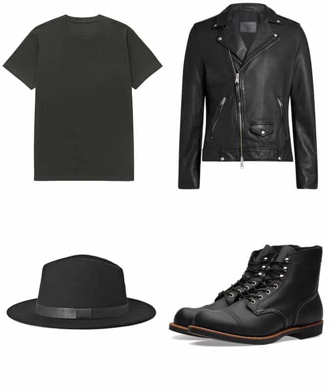 Comment porter un jean noir dans un look Rock N Roll