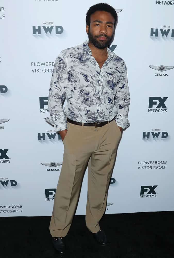 Donald Glover Gucci