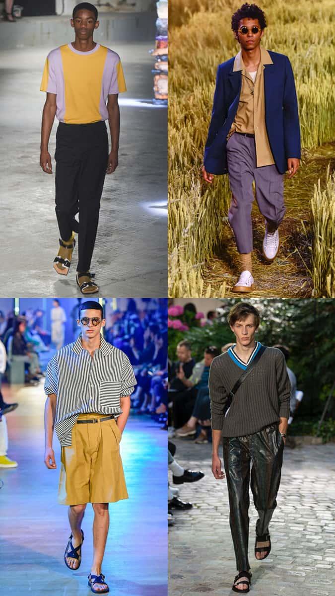 La tendance au repli à la Fashion Week masculine SS19
