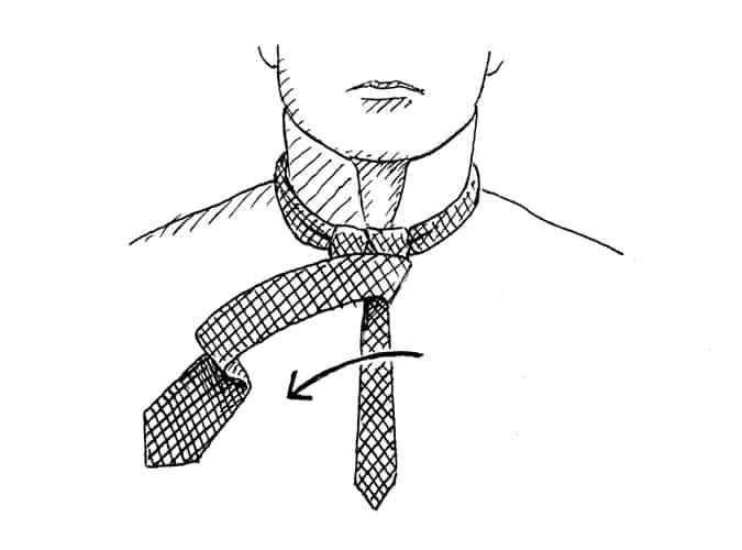 Comment nouer un nœud Windsor