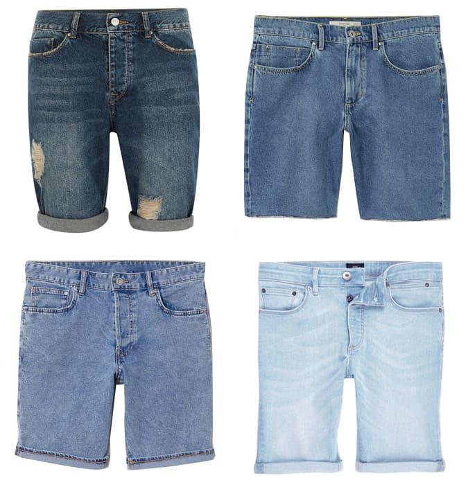 Le meilleur short en jean pour homme