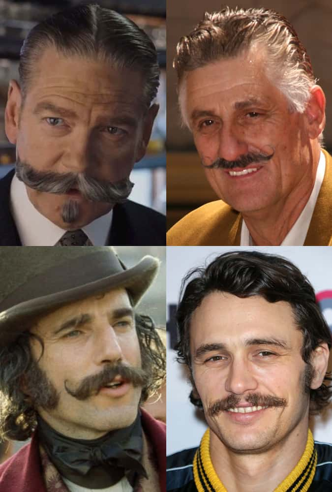 The Handlebar Moustache Style