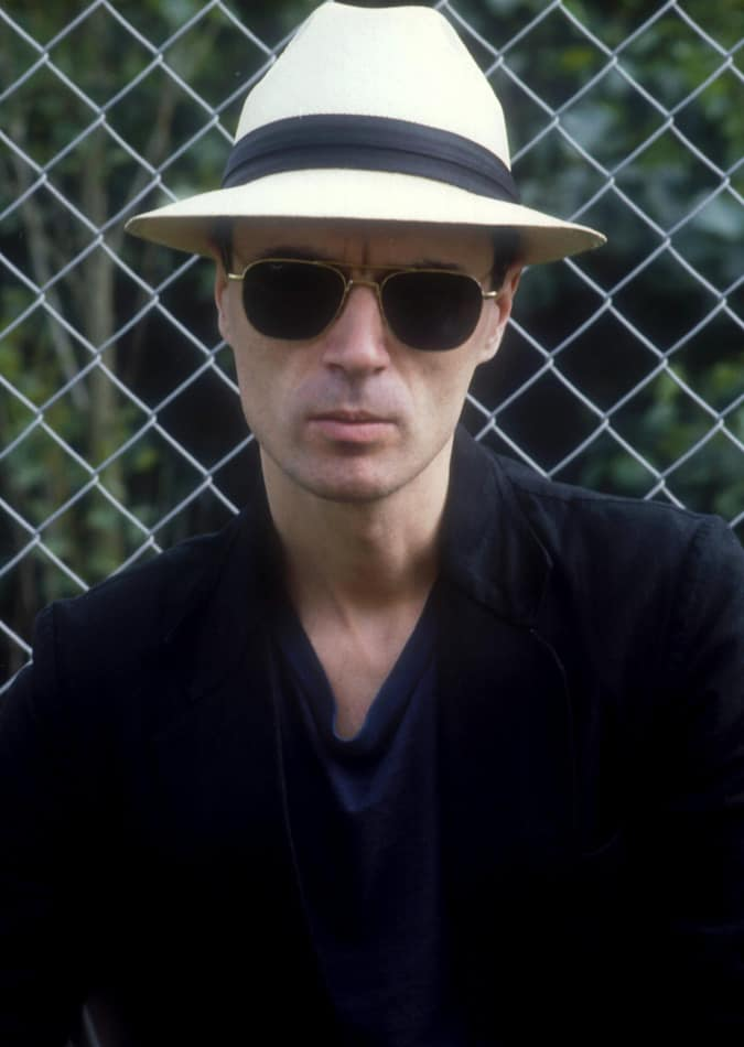 David Byrne de Talking Heads, 1982