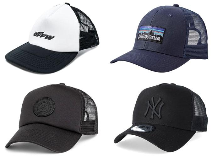 Les meilleurs casquettes de camionneur
