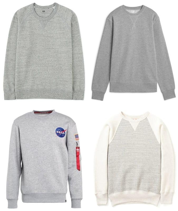 Les meilleurs pulls molletonnés gris pour hommes