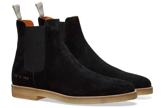 PROJETS COMMUNS SUEDE CHELSEA BOOT
