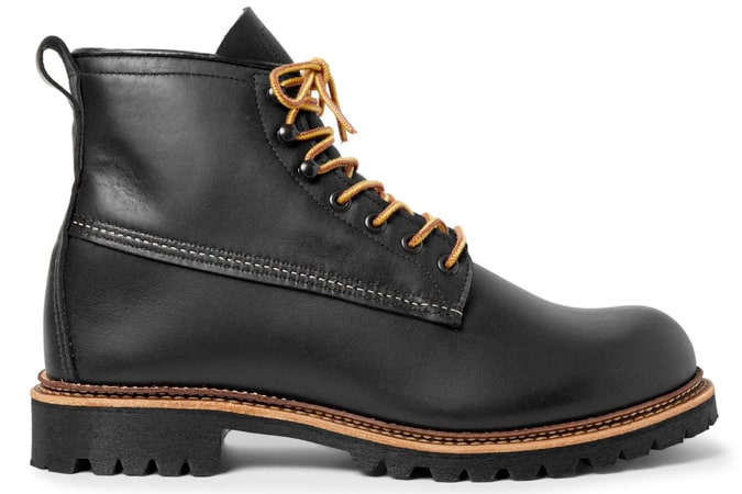 CHAUSSURES AILE ROUGE Bottes en cuir Ice Cutter
