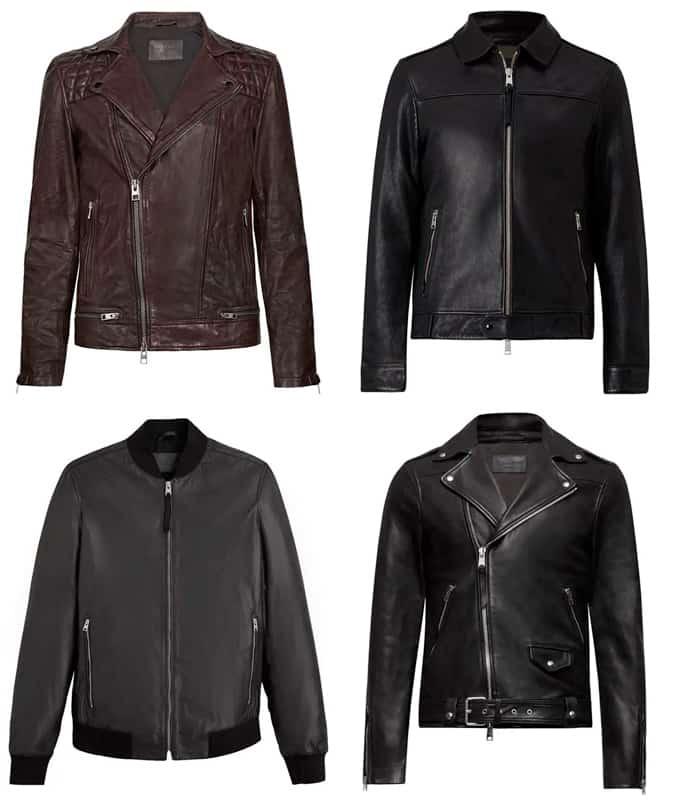 Les meilleures vestes en cuir AllSaints