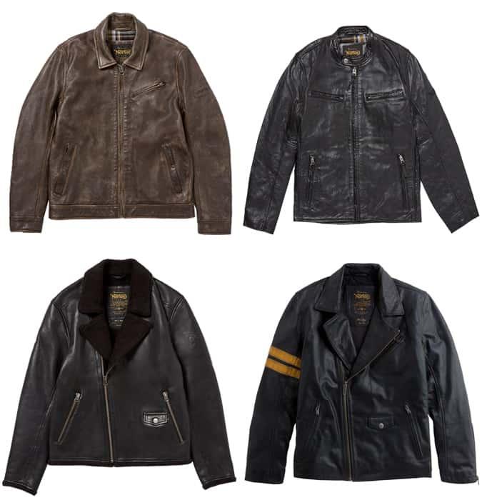 Les meilleures vestes en cuir Norton