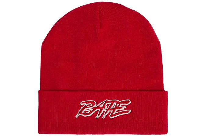 A BATHING APE Bonnet bonnet côtelé