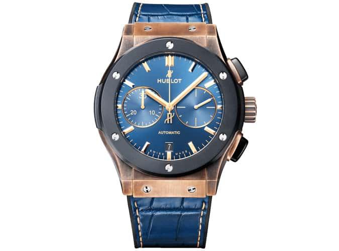 Montre Hublot Classic Fusion Bronze Bucherer Blue Edition