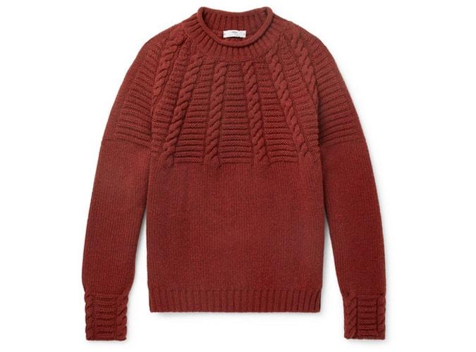 INIS MEÁIN Pull en laine mérinos torsadée