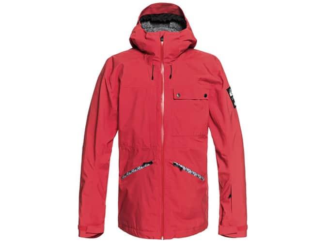 Meilleures Vestes de Snowboard pour Homme - Quicksilver Snow SpinDye - Veste de Snow Shell
