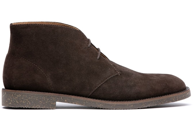 KARTER SUEDE BROWN CHUKKA BOOT H BY HUDSON