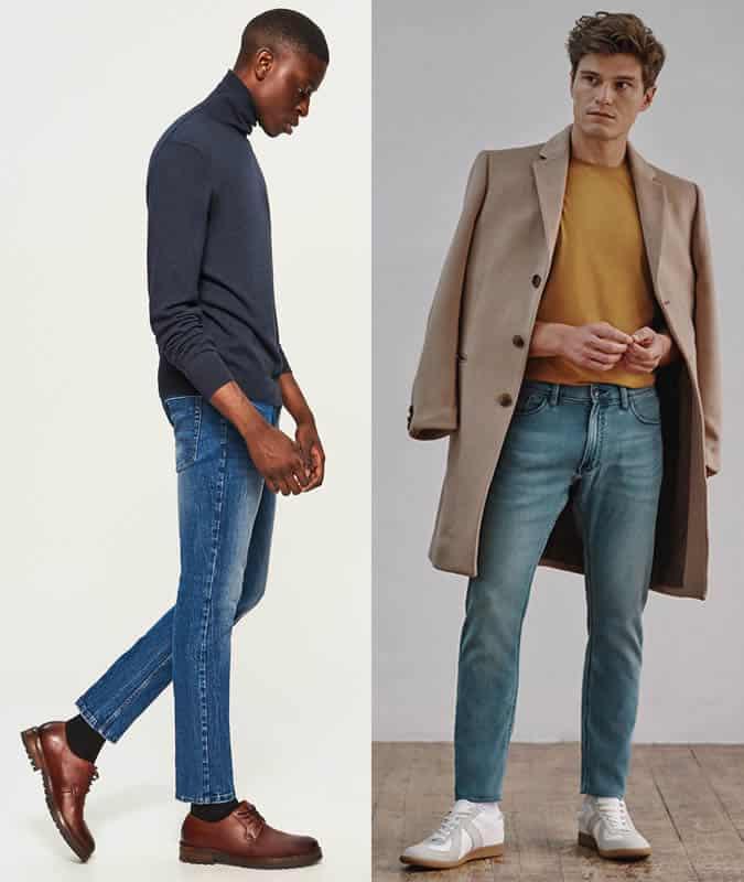 Comment porter un jean mi-délavé