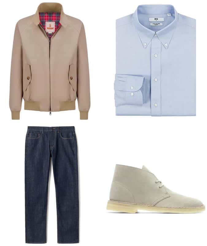 Inspiration pour la veste Harrington
