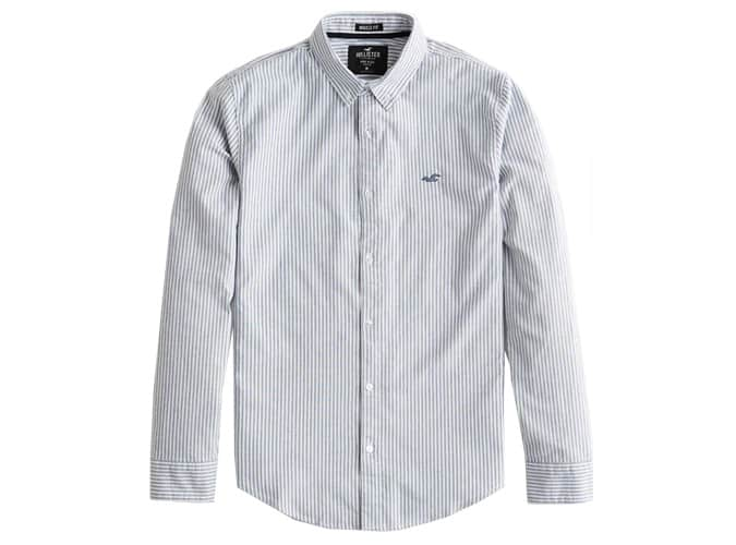 Chemise extensible Oxford Muscle Fit
