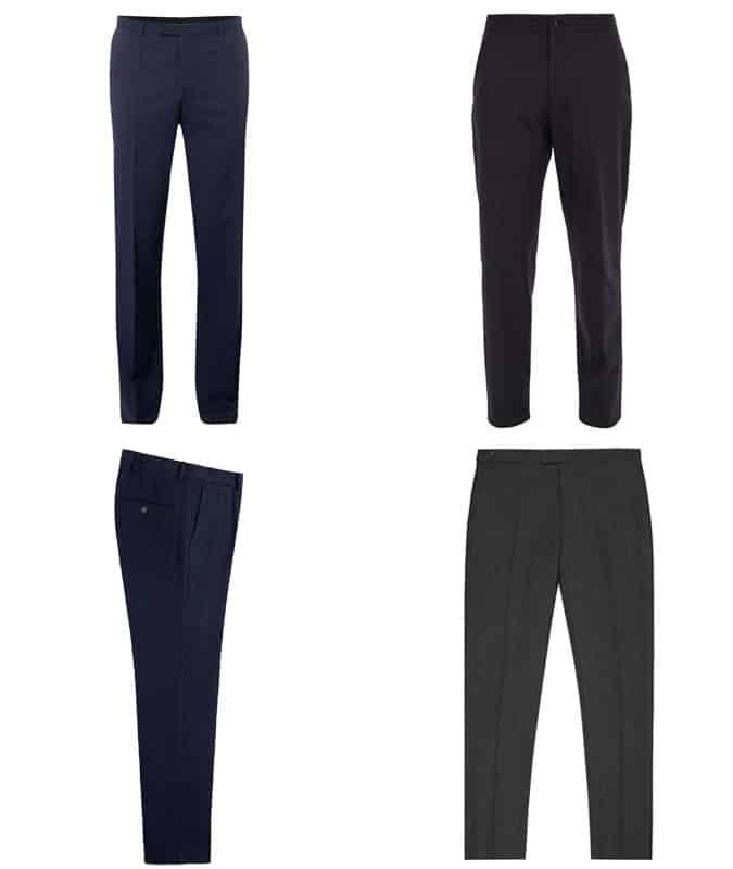 Le meilleur pantalon à fines rayures pour hommes