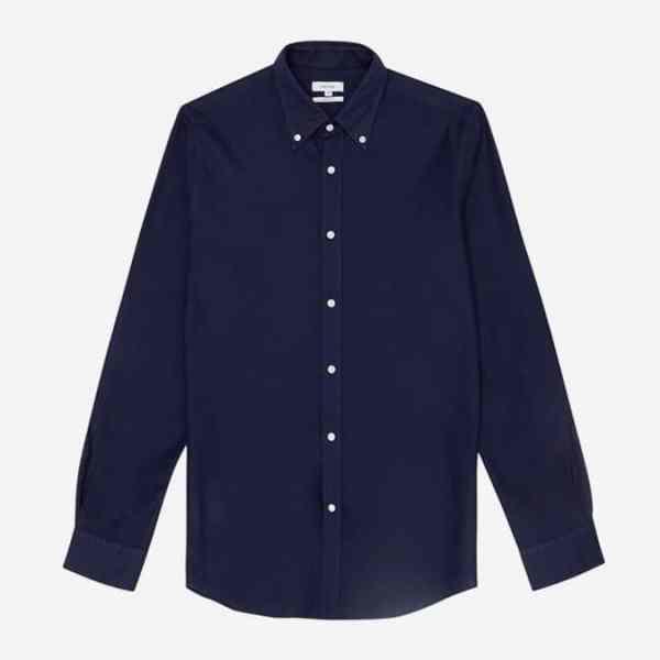 Chemise boutonnée texturée Halliday