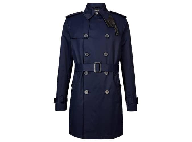 AUTOGRAPH Trench-coat en coton riche avec Stormwear