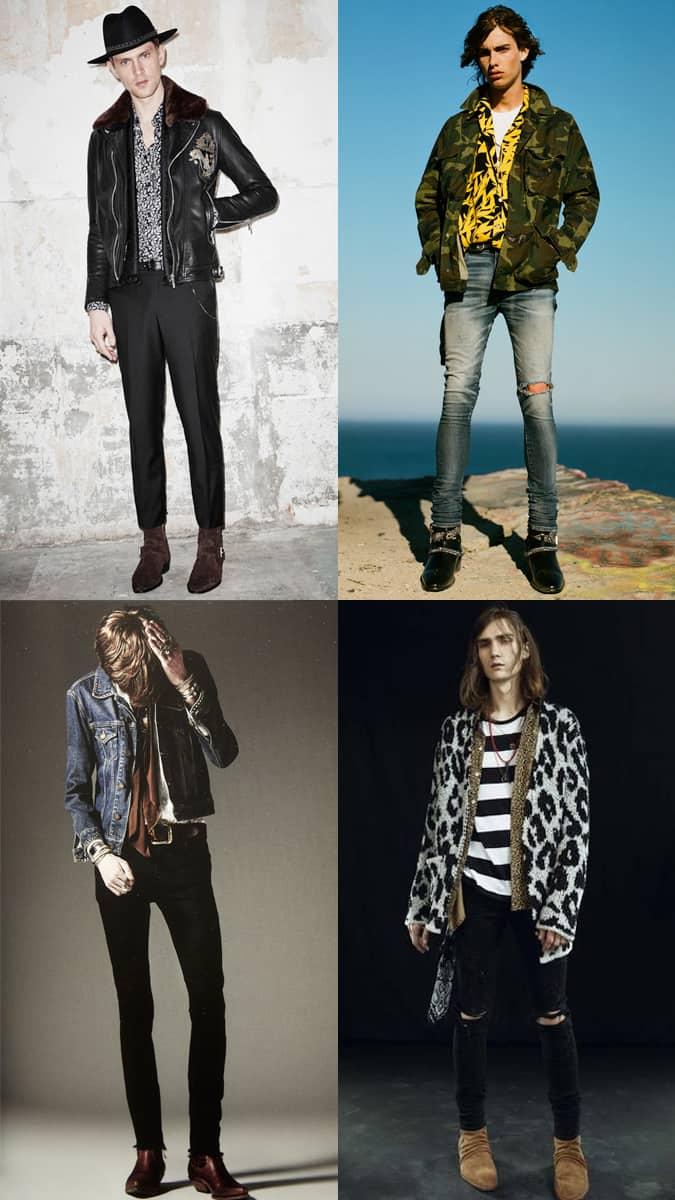 rock n roll vêtements pour hommes
