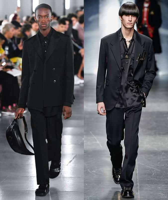 Costumes Valentino et Versace AW19