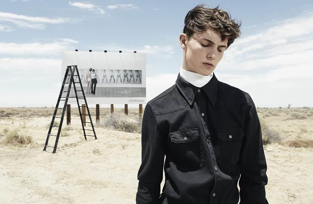 Campagne de publicité Calvin Klein 205W39NYC