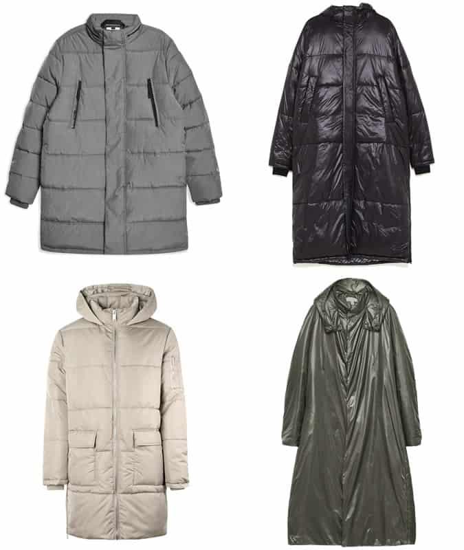 Meilleures vestes bouffantes longues pour hommes