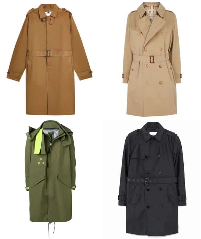 Big Trench Coats pour homme