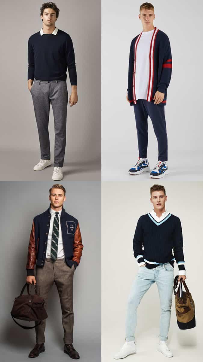 Vêtements preppy pour homme