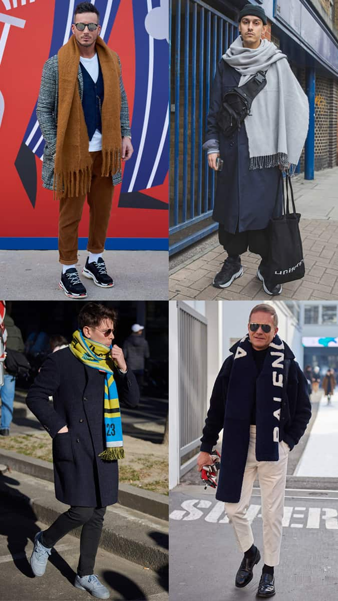 Foulards oversize AW19 Street Style Trends