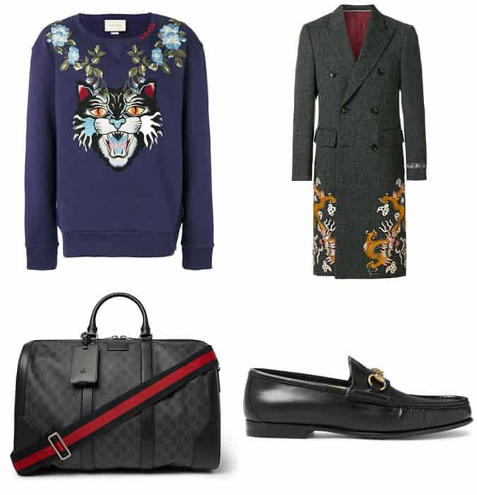 Les meilleurs vêtements pour hommes Gucci