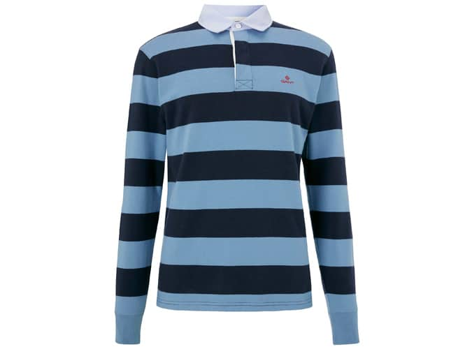 GANT Heavy Rugger Rugby Top, Bleu