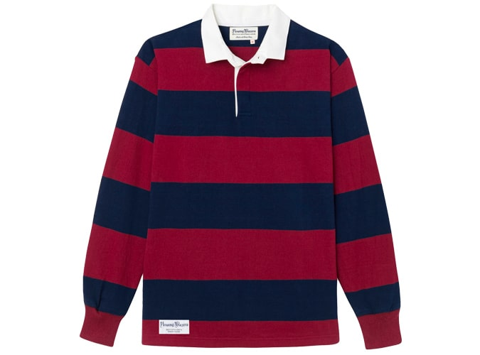BURGUNDY AND NAVY DAD RUGBY