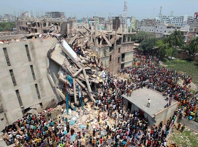 L'effondrement de l'usine Rana Plaza
