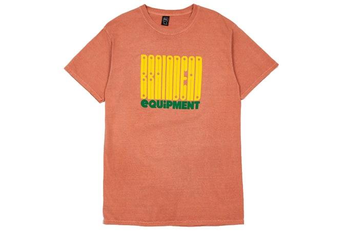 BRAIN DEAD Equipment T-Shirt - Terracotta