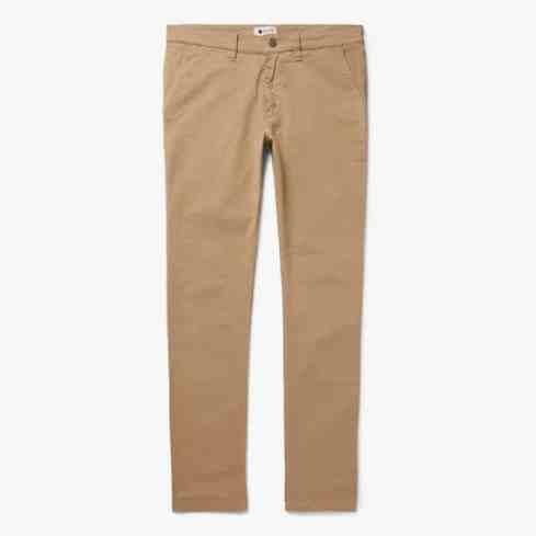 NN07 Pantalon chino slim en sergé de coton stretch Marco
