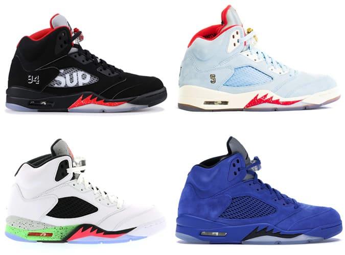 Meilleures baskets Air Jordan V