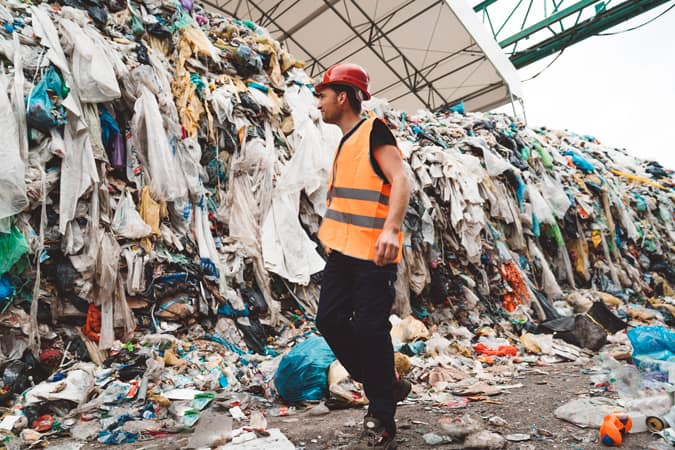 Sustainability - rubbish tip