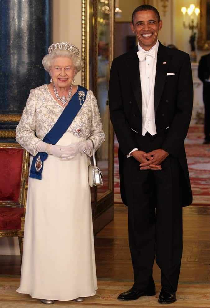 Cravate blanche de Barack Obama