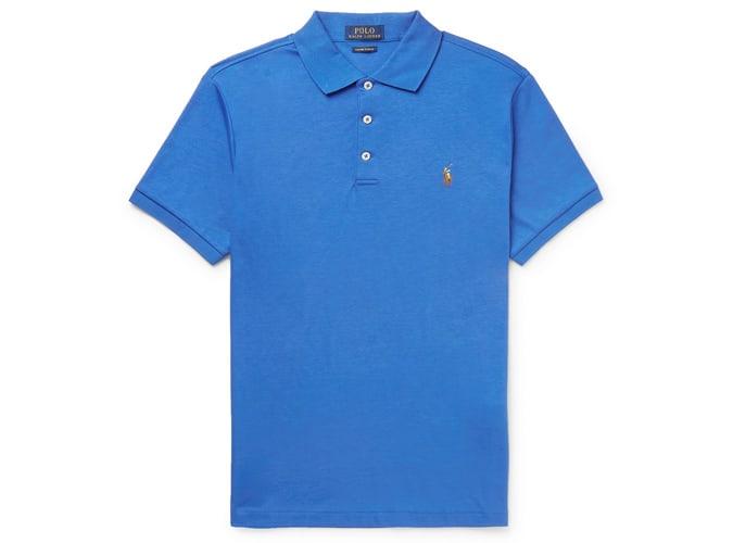 POLO RALPH LAUREN Polo en jersey de coton Pima coupe slim