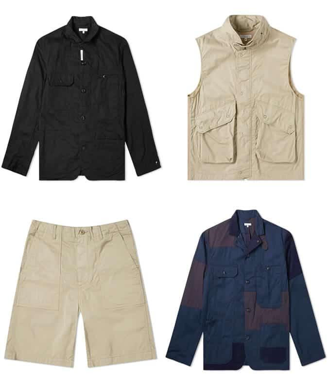 Best Engineered Garments vêtements pour hommes