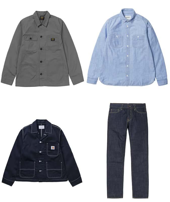 Les meilleurs vêtements pour hommes Carhartt