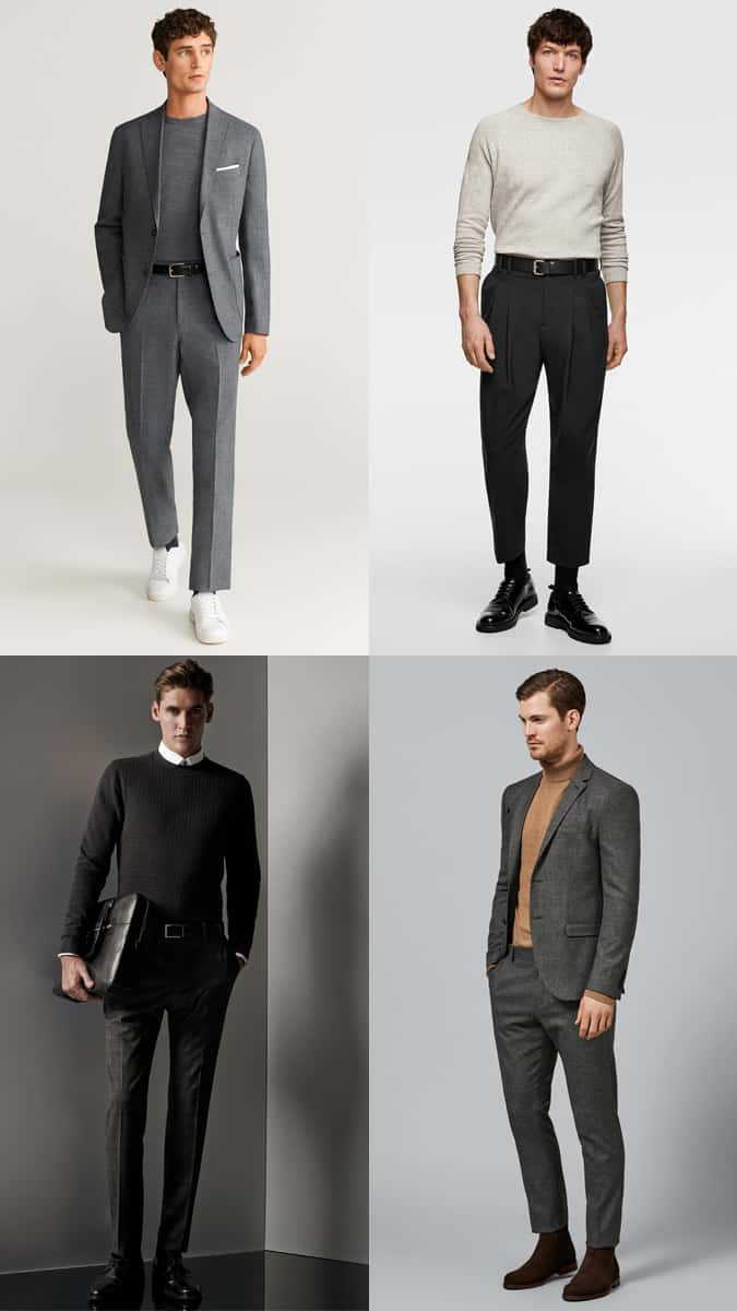 Comment porter des tricots avec un costume