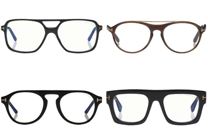 Les meilleures lunettes Tom Ford hommes