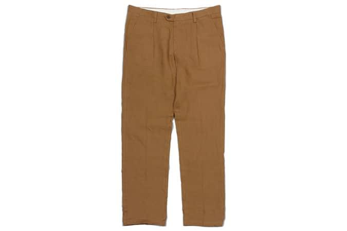 Pantalon plissé Far Afield