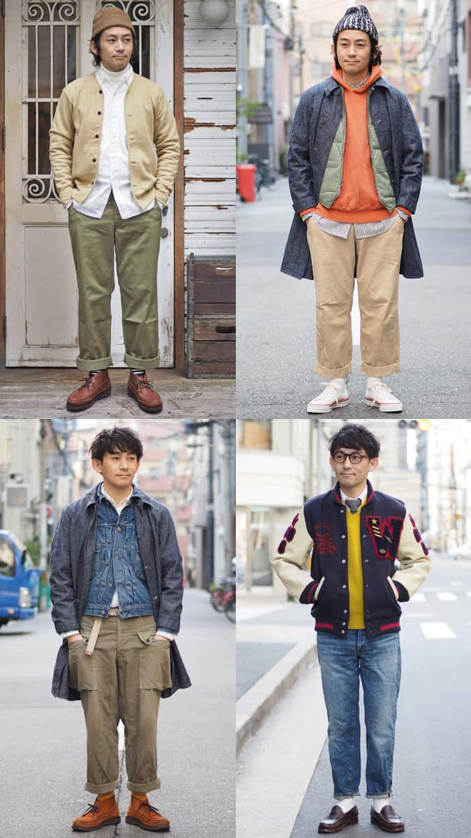 Ametora outfits for men