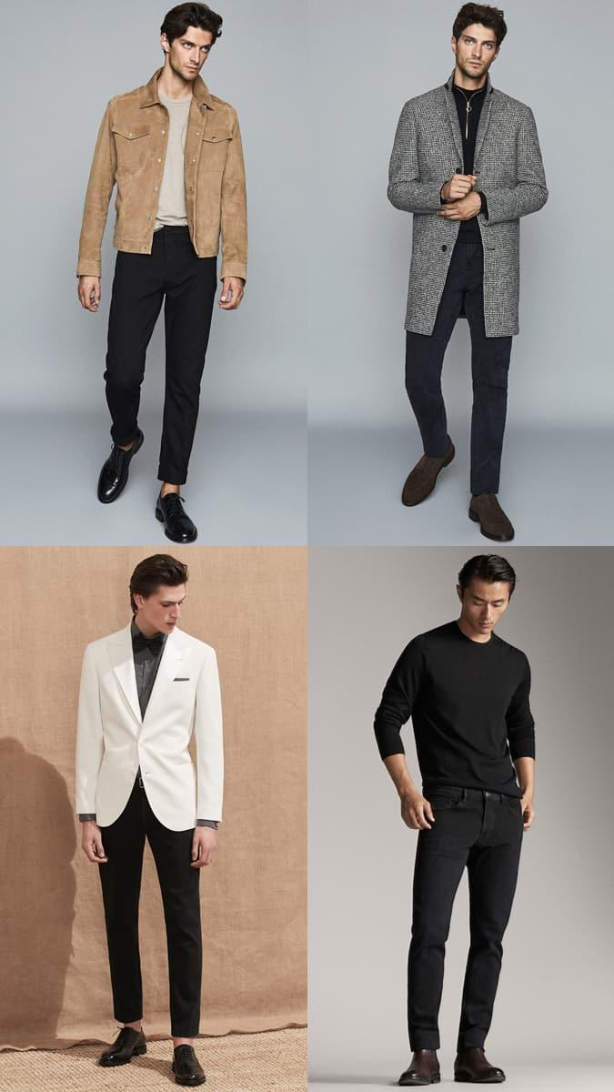 Comment porter un jean noir au travail